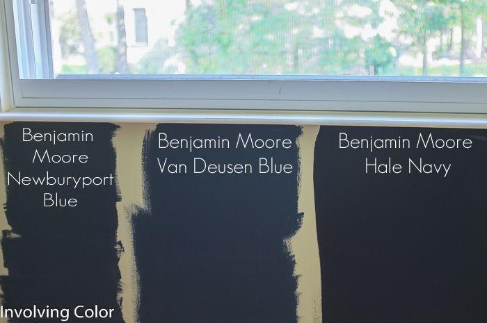 Tips On Choosing Benjamin Moore Navy Paint Colors Home