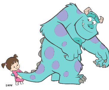 Sully and Boo - Monsters, Inc.