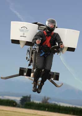 Anyone for a jet pack?