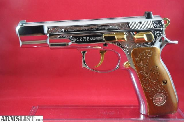 ARMSLIST - For Sale: New CZ 75 25th Siver Anniversary Reduced
