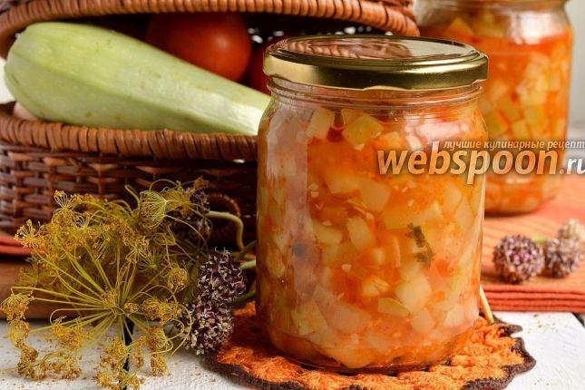 Фото Кабачки в томатном соусе на зиму