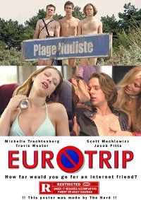 Eurotrip A fasinating comedy with many interesting and comedic situations about Scott Thomas who is in a adventure with his friends to find Mieke, a girl he makes friend with through the Internet. The group of friends travel from London through Paris, Amsterdam to Berlin.