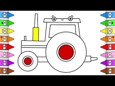 Jak Narysować Traktor Krok Po Kroku Kolorowanki Dla Dzieci Do