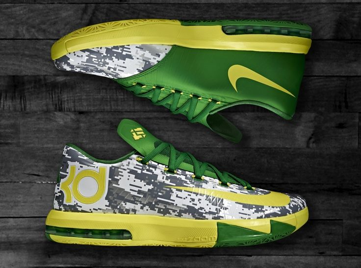 Nike KD 6 – Oregon Armed Forces Classic PE