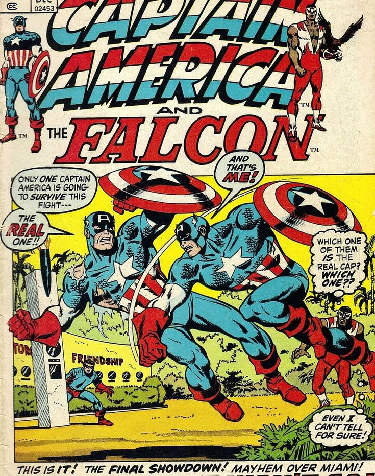 CAPTAIN AMERICA #156 BUCKY THE FALCON VG 1ST PRINTING