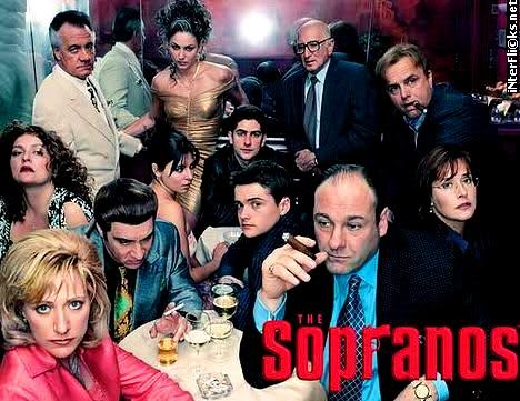 The Sopranos is an American television drama series created by David Chase that revolves around the New Jersey-based Italian-American mobster Tony Soprano (James Gandolfini) and the difficulties he faces as he tries to balance the conflicting requirements of his home life and the criminal organization he heads.