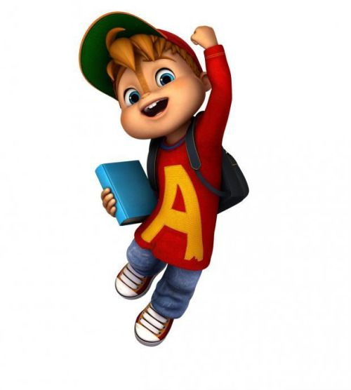 430 best images about alvin and the chipmunks on pinterest for Alvin da colorare