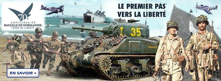 A l'occasion du 70éme anniversaire du débarquement Heller vous propose de commémorer cette bataille avec sa gamme spéciale D-Day. http://www.heller.fr/fr/maquettes/68-d-day