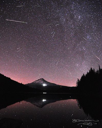 Perseid Meteor Shower- I just saw 9, but I most likely won't be awake at the prime point