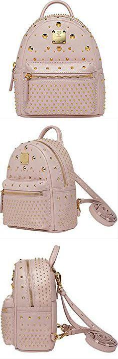 Mcm Backpack Price. 2015 MCM STARK BEBE BOO X-MINI Backpack CHAMOMILE MMK5SVE71IC / Dust Bag / Black, Blue Haze, Chamomle, Light Pink (Light Pink).  #mcm #backpack #price #mcmbackpack #backpackprice