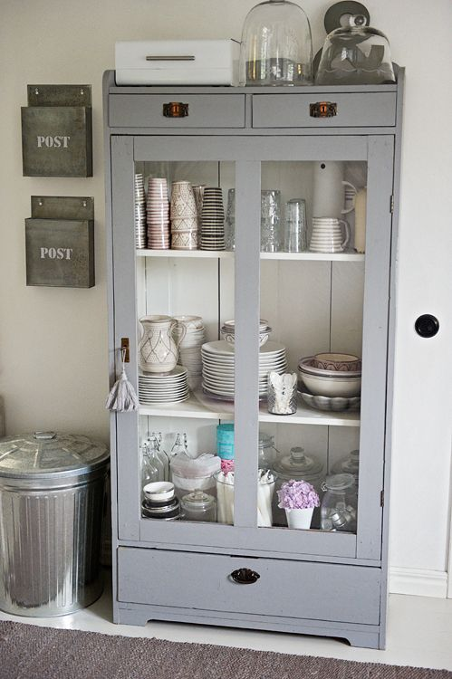 Beautiful freestanding cupboard for kitchen storage