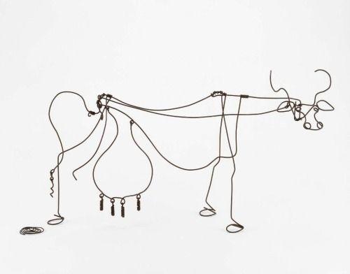 deborark:  Alexander Calder, Cow, c. 1929