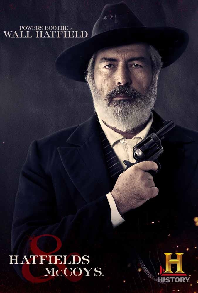 Hatfields & McCoys - Powers Booth as Wall Hatfield / Dear Jesus, I am still in love with Powers Booth