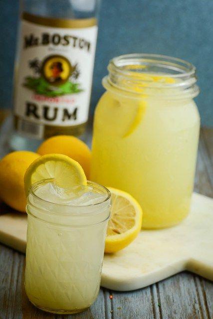 Simple Hard Lemonade Recipe - A refreshing treat for adults!