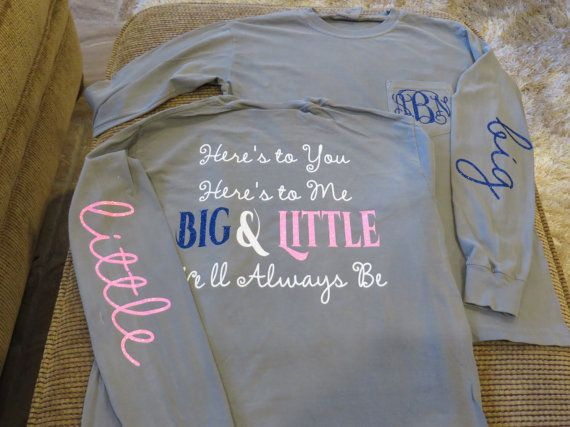 Here's to You Here's to Me Big & Little We'll by BlingByBates