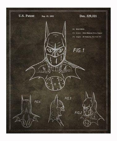 Look at this #zulilyfind! Batman 1992 Print by Oliver Gal #zulilyfinds