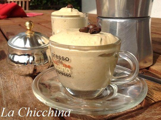 La Chicchina: La mia crema al caffè (volendo corretta grappa) #caffe #dessert #crema #pannacotta