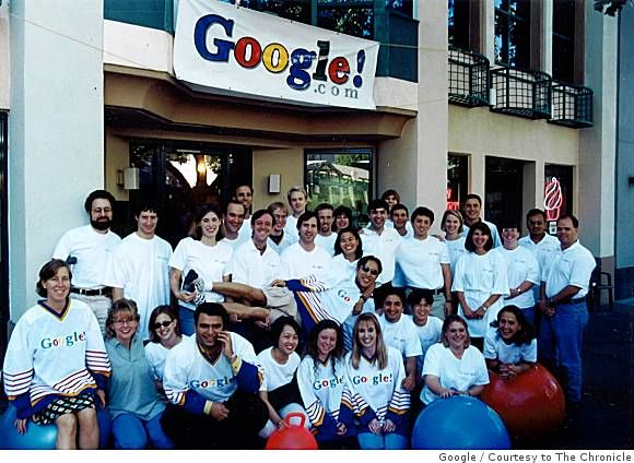 Google in 1999, when they started. Join me G+ here https://plus.google.com/110205424902416293728/
