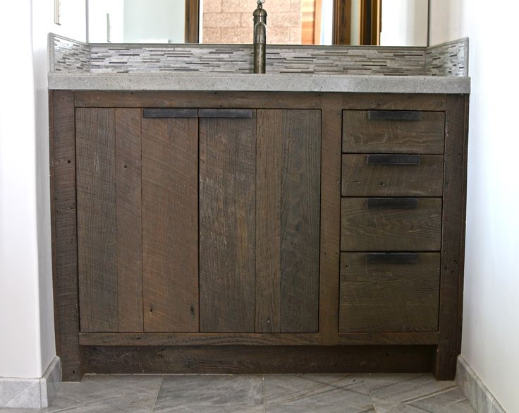 Drawer Pulls Bathroom Ideas Diy Bathroom Vanity With Solid Wood Vanity Base With Unfinished Work With Oil Rubbed Bronze Faucet For Rustic Bathroom Ideas