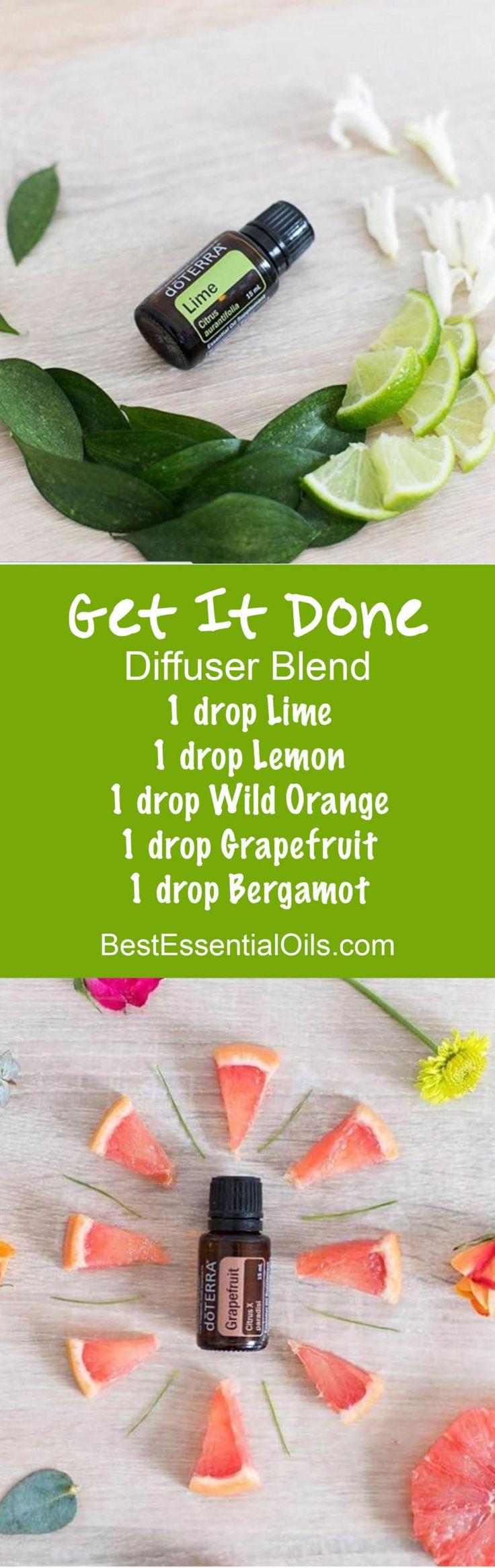 Get It Done doTERRA Diffuser Blend
