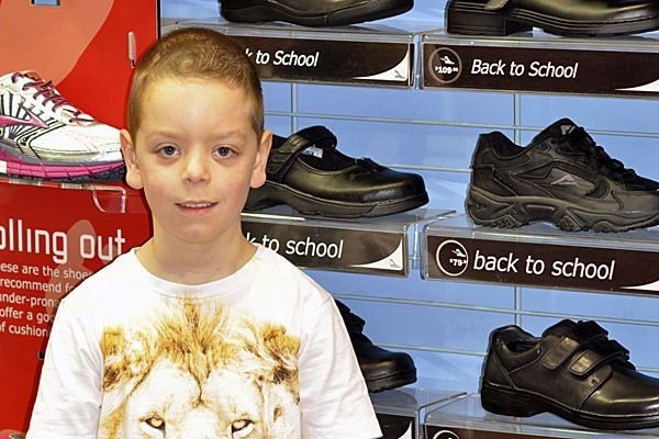 Shopping for kids shoes can be tiresome at the best of times but shopping for school shoes can take the cake. Grumpy kids having to try on