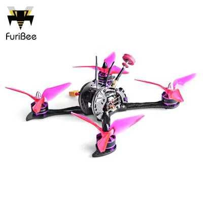 FuriBee X215 PRO - $159.99 (coupon: FBX215) 215mm FPV Racing Drone PNP  5.8G 1200TVL CCD / F4 6DOF FC with OSD / 2206 2600KV Brushless Motor  #Quadcopter, #drone, #FuriBee, #дрон, #квадрокоптер, #gearbest      8379