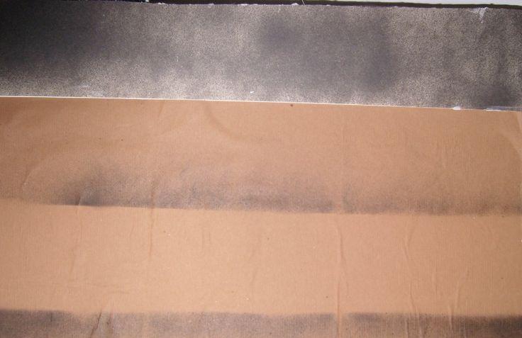 Graça Lisboa (1955) Fabricas 2/3 (2002) Técnica Mista (Acrilico sobre tela e colagem com papel craft ) Colecção Particular Braga