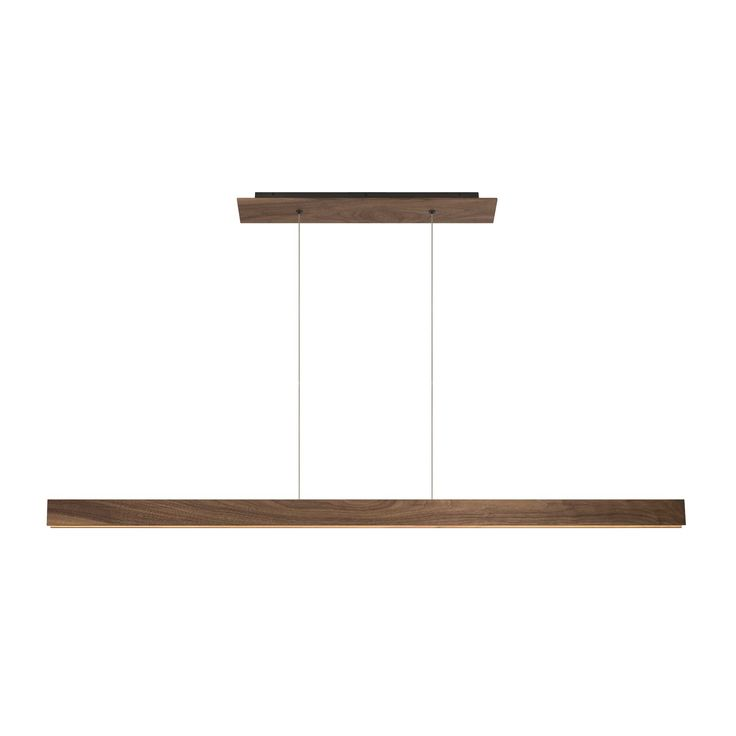 Glide Wood Linear Suspension By Edge Lighting Lightology