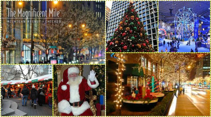 Join us on our ANNUAL CHICAGO CHRISTMAS SHOPPING TRIP on Sat, Dec 5, 2015. Chicago is fantastic at Christmas time! There are lights everywhere and every building gets into the spirit!   Bundle up and spend the day shopping, eating and sightseeing. Visit Navy Pier, The Museum of Science &Industry, and Daley Center. Shop the Magnificent Mile & Christkindlmarket. $49/person Contact Karen for more information: 262.492.8747/karen@wi.net   http://chocolatecitytravel.com/Page/annualchristmastrip