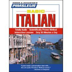 Italian, Basic: Learn to Speak and Understand Italian with Pimsleur Language Programs (Simon & Schuster`s Pimsleur) $14.74Italian Languages, Programs Simon, Buckets Lists, Languages Programs, Understand Italian, Learning Italian, Schuster Pimsleur, Languages Learning, Pimsleur Languages