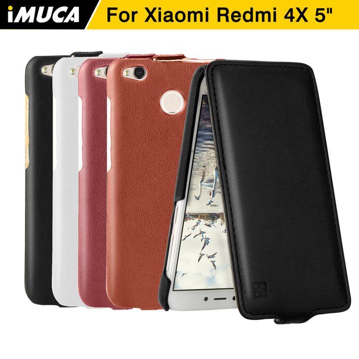 cool Xiaomi Redmi 4x Case iMUCA Xiaomi Redmi 4x Pro Prime Cover Flip Leather Case Coque Xiaomi Redmi 4 Pro Prime Mobile Phone Cases
