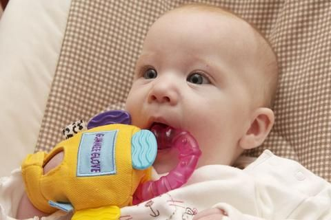 Wearable Teething Glove