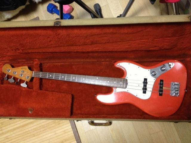 Fender American Vintage 62 Jazz Bass Reissue '88   21.5jt