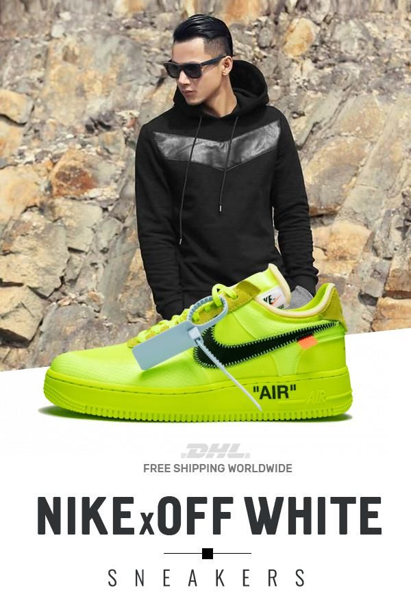 How to get Womens Nike Off White Air Force 1 Low OW online