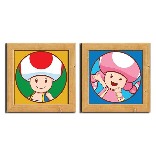 Kit Pôster Chassi Toad