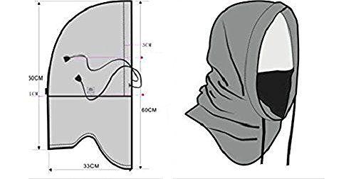 VASTER Tactical Heavyweight Balaclava Outdoor Sports Mask