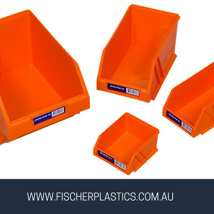 Our Stor-Pak Bin is a plastic container that is ideal for storing accessories in your van, office, warehouse, home and garage.