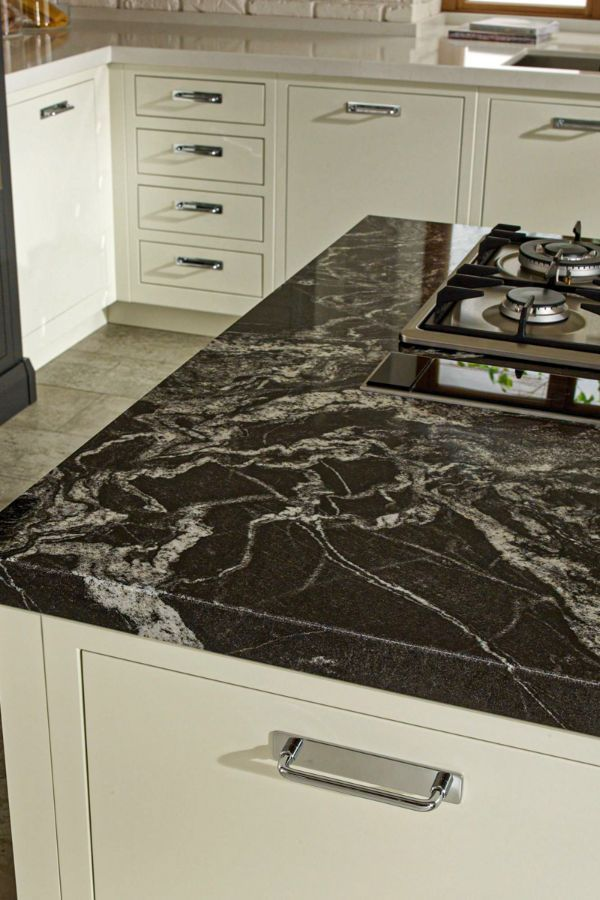 49 Beautiful Kitchen With Marble Countertops Design Ideas Part 10 In 2020 Black Granite Countertops White Granite Countertops Countertop Design