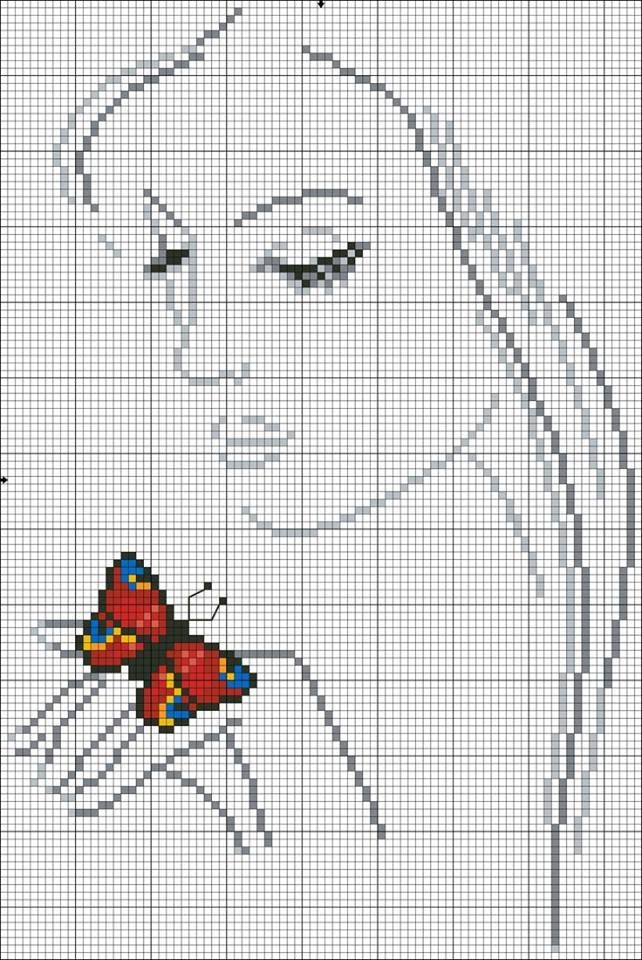 cross stitch ~ would like to do this as an afghan for Leah