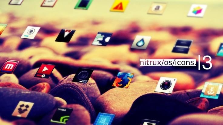 nuevo set de iconos para gnome/ubuntu. new clean icon set for gnome linux