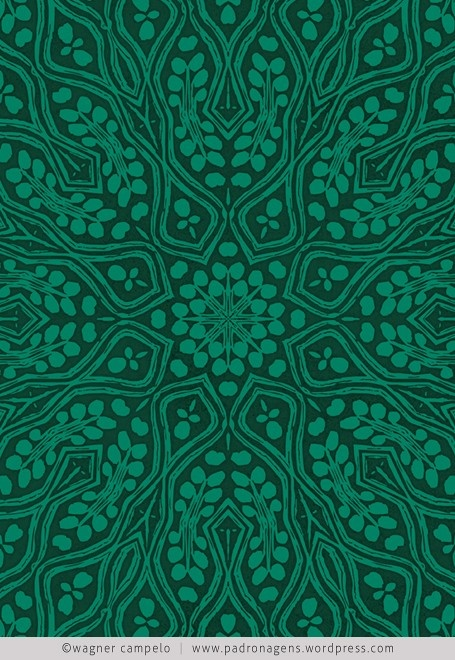 Beautiful Jade Green print :-)