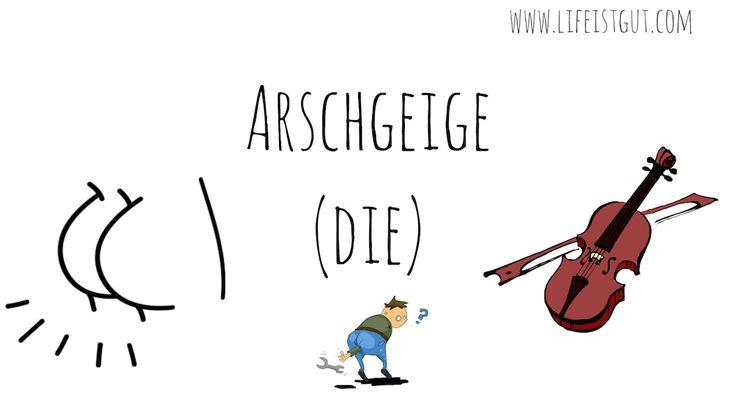Немецкие слова с переводом: немного немецкого сленга и ругательств