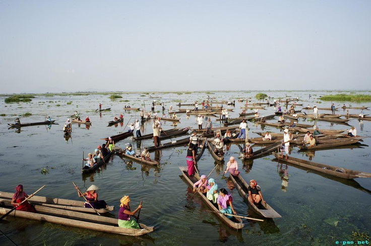 loktak lake,bigest clear water lake in northeast India,Manipur:)
