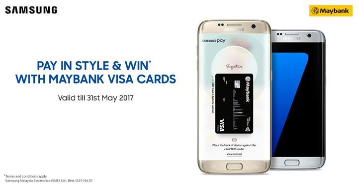 Want to get your hands on the latest Samsung Galaxy S Series? We have 50 to giveaway. Shop and pay with Samsung Pay now to win! #mySamsungPay  More info http://spr.ly/61858wO3X