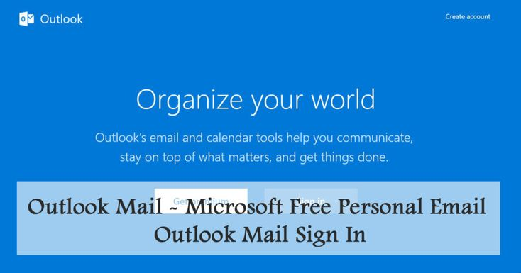 Outlook Mail - Microsoft Free Personal Email | Outlook Mail Sign In - TecNg