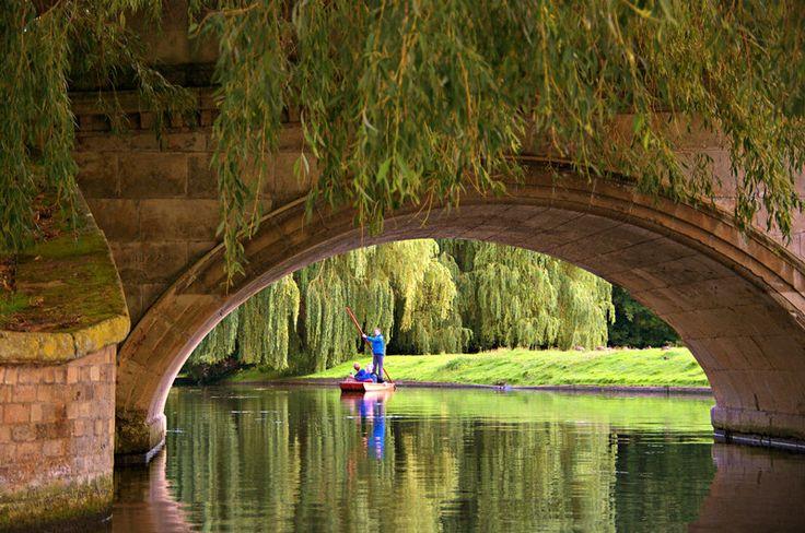 Having a Punt... - Cambridge, Cambridgeshire | by Stephen Wilkinson via trekearth