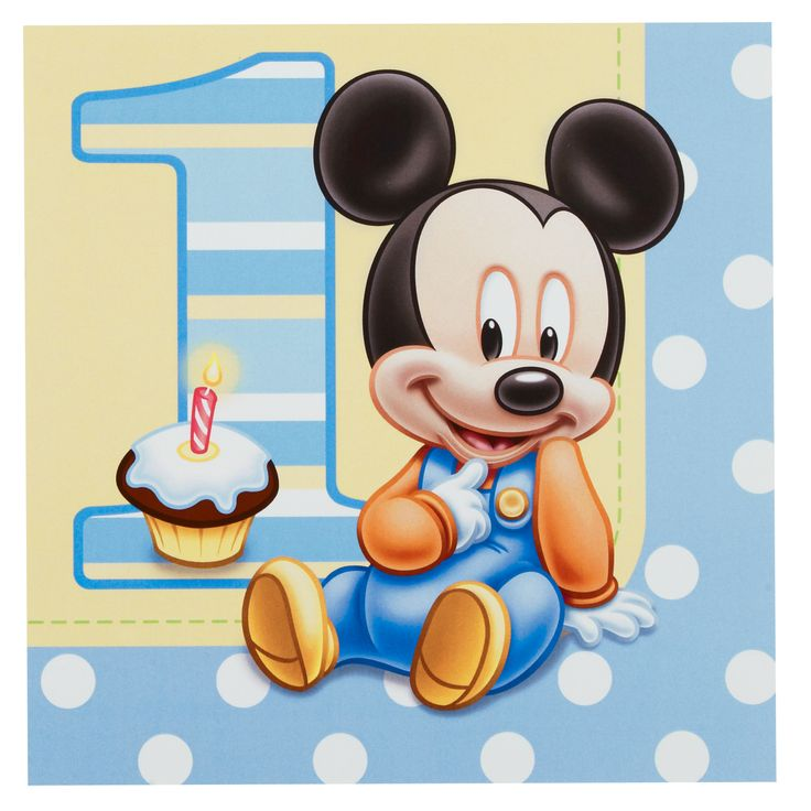 baby mickey mouse 1st birthday wallpaper cartoons