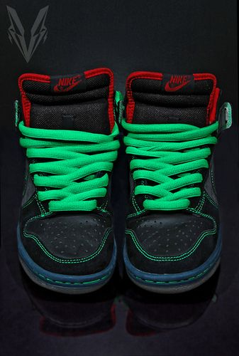 Dunk High Premium Sb blanc  noir Skate Shoe 11 nous
