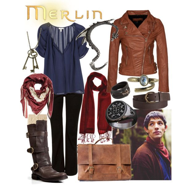 "It is absolutely ridiculous that I pinned a ""Merlin"" outfit to my wish list... but I loveeee it:-D"