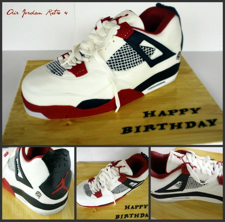 Awesome Air Jordans cake from Cut To The Cake in Brisbane, Australia